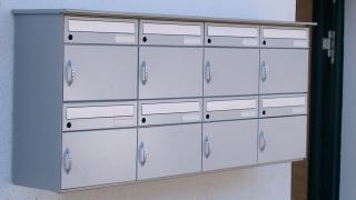 Wandmontage Briefkasten für Kabazylinder