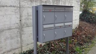 Briefkasten für bewitterte Standorte