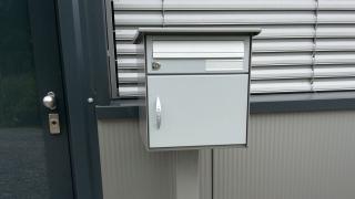 Regendach für Briefkasten