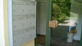 Teilwandeinbau Briefkasten