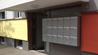 Briefkasten Türseitenteil