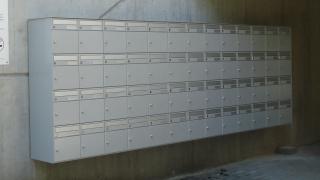 Briefkasten für Wohnblock 13x4
