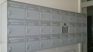 Briefkasten Alumhaus