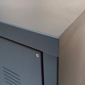 Caseline Aluminium Schalenverkleidung Briefkasten