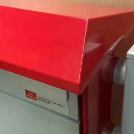 Briefkasten Deskline Regendach
