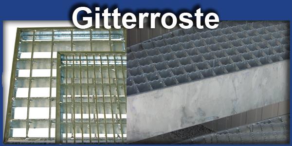 Gitterroste Stahltreppen Blechprofilroste