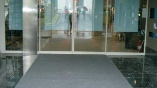 Eingangsmatte für Einkaufscentrum