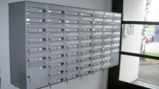 Brieffachanlage Postverteiler