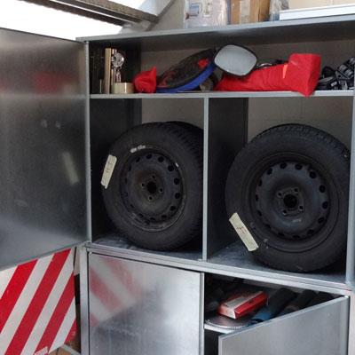 Pneuschrank Materialschrank Garagenschrank Reifenschrank