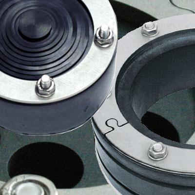Rohrdurchführung Pressringe Ringraumdichtung