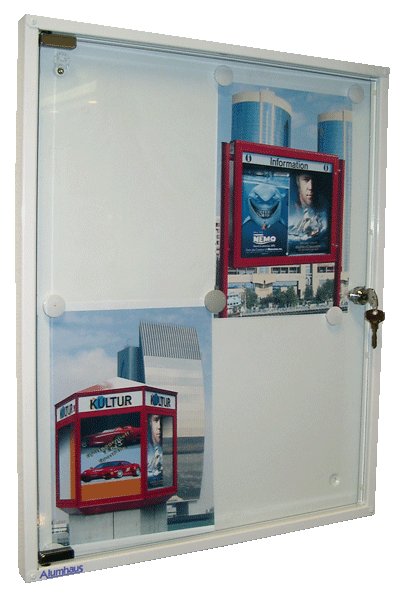 Innenschaukasten Mitteilungskasten Hauswart Schaukasten