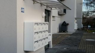 Briefkastenanlage Briefkasten PTT Norm
