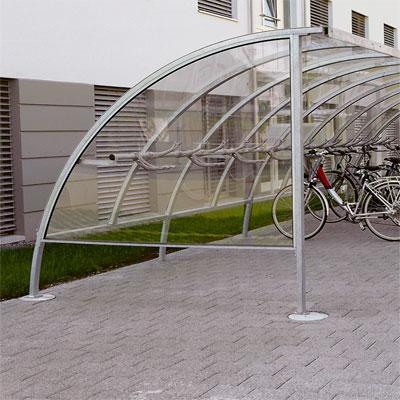 Trendline Fahrradüberdachung