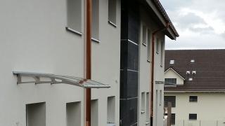 Vordach Eingangsüberdachung
