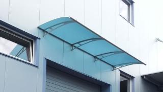 Vordach Deskline Standardvordach Eingangsberdachung