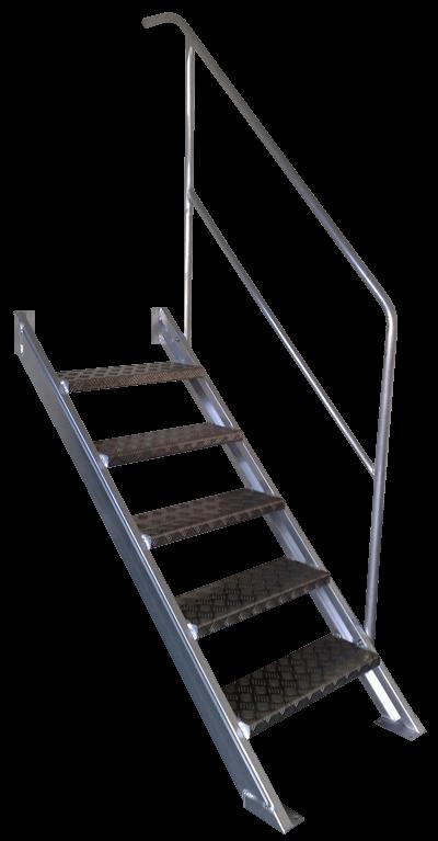 Alu-Industrietreppe Treppe