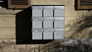 Briefkasten Wandmontage Ecoline 3x3GL