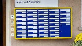 Postverteiler Brieffachanlage