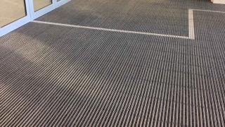 Innenmatte mit Teppichbelag