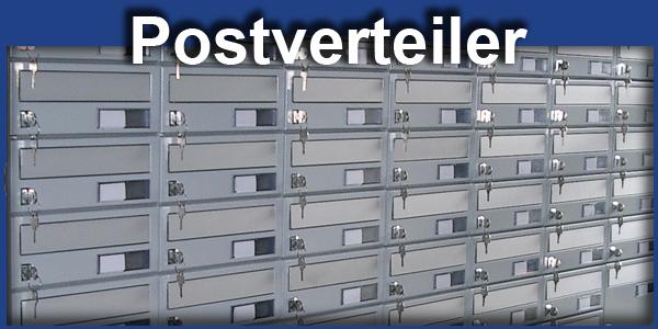 Postverteiler Briefkasten Verteilanlage