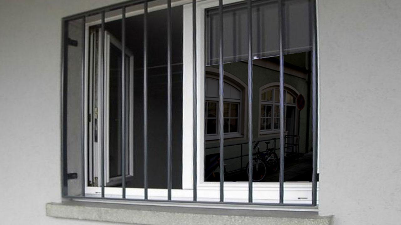 Fenstergitter Einbruchschutz Mausegitter Staketengitter