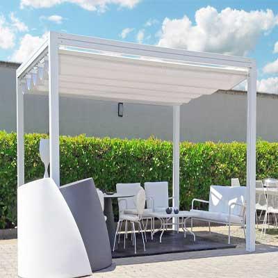 Gut bekannt Pavillon Alu-Top, Die hochwertige Beschattung und Sichtschutz. Pergola GQ93