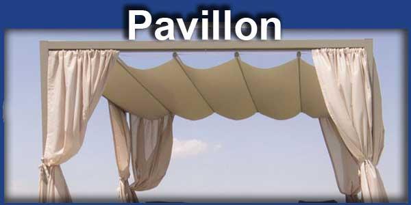 Pavillon Sonnenschutz